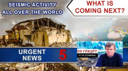 Increase of seismic activity all over the world. What is coming next? Urgent news 5